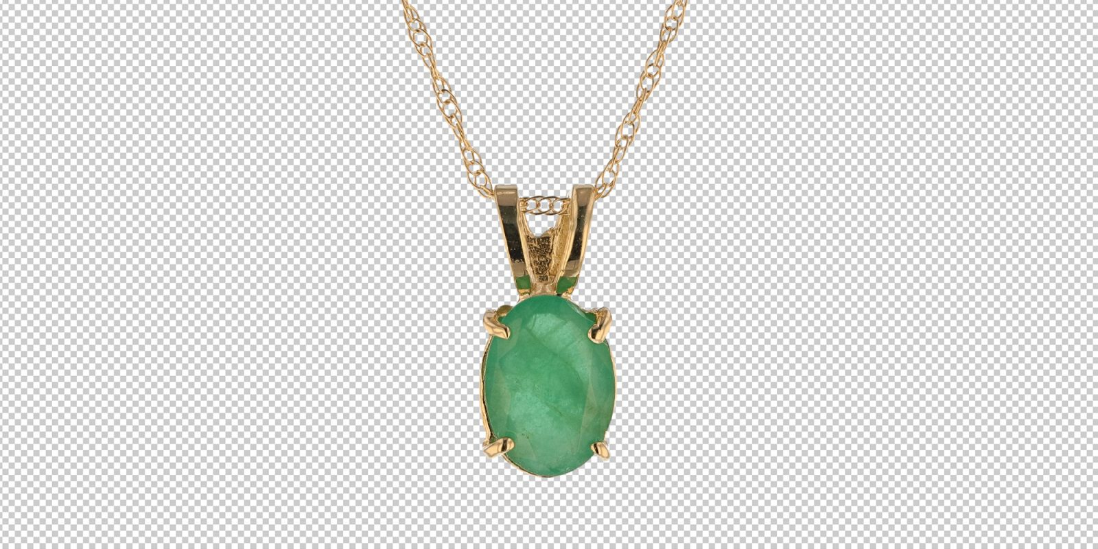green necklace transparent bck